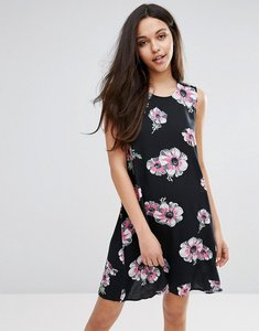 Read more about Warehouse ocean floral print swing dress - multi
