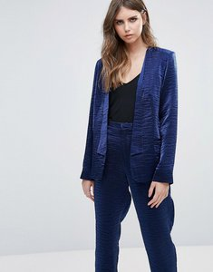 Read more about Minimum sateen soft blazer - winther blue