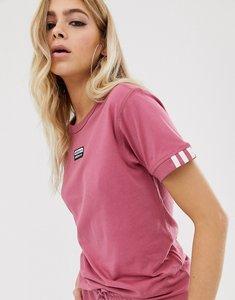 new photos new styles new arrival adidas originals california t shirt in pink bq5371 - Shop ...