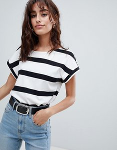 Read more about Esprit wide stripe t-shirt - white