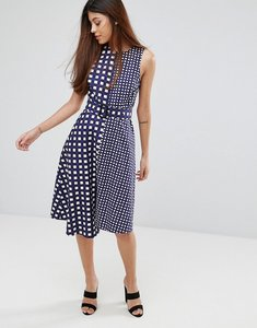 Read more about Warehouse gingham dress - multi