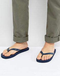 Read more about Ben sherman blanca logo flip flops - blue