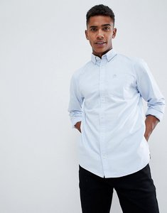 Read more about Produkt basic oxford shirt in slim fit - chambray blue