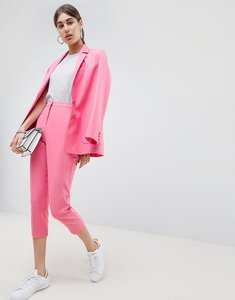 Read more about Asos cigarette trouser in pop pink