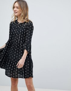 Read more about New look stripe print dress - black pattern