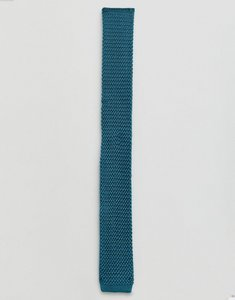 Read more about Farah silk knitted tie - sea green 317