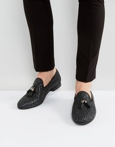 Read more about House of hounds alfred metallic loafers in gunmetal - black