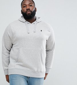 Read more about French connection plus overhead hoodie - light grey mel