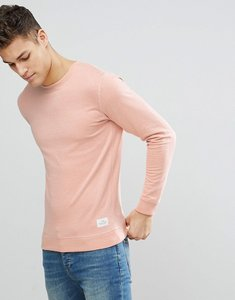 Read more about Solid sweatshirt in pink - 4203