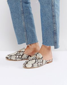 Read more about Raid nancy snake print mules - snake print