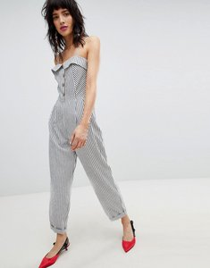 Read more about Stradivarius stripe jumpsuit - multi