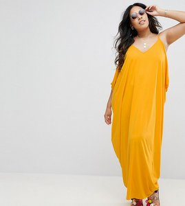 Read more about Asos curve drape hareem maxi dress - yellow