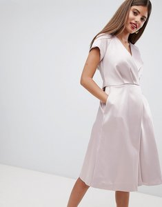 Read more about Closet london tie waist dress - pink