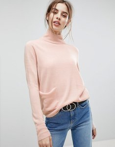 Read more about Vero moda front pocket jumper - rose