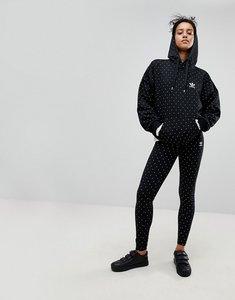 Read more about Adidas originals x pharrell williams hu polka dot leggings - black