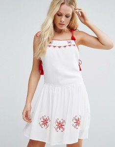 Read more about Little white lies carys skater dress - white