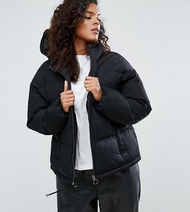 Read more about Asos curve ultimate puffer jacket - black