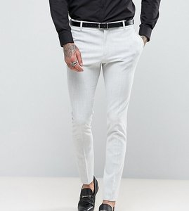Read more about Religion super skinny suit trousers in pale grey - grey