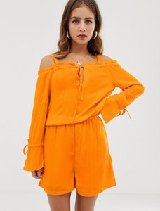 Read more about Noisy may alberte cold shoulder playsuit