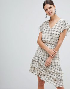 Read more about Y a s sachecky skater dress - cream check