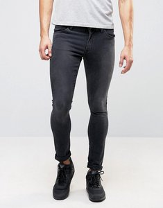 Read more about Asos design extreme super skinny jeans in washed black - washed black