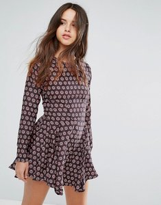 Read more about Louche billie printed dress - multi
