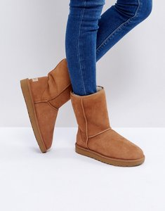 Read more about Ugg classic short ii chestnut boots - chestnut