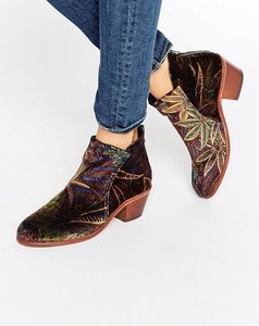 Read more about Hudson london apisi liberty velvet mid ankle boots - liberty wi