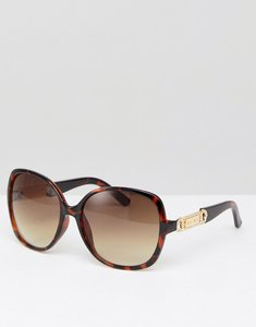 Read more about Carvela square sunglasses - brown