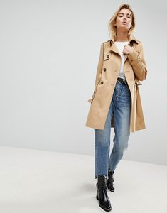 Read more about Asos design classic trench coat - stone