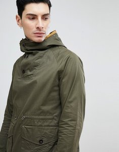 Read more about Pretty green blyth over head jacket in khaki - green