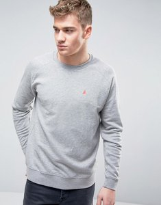 Read more about Asos sweatshirt with logo in grey marl - grey marl