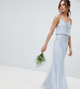 273b0353 amelia rose mesh maxi dress with sequin embellished placement - Shop ...