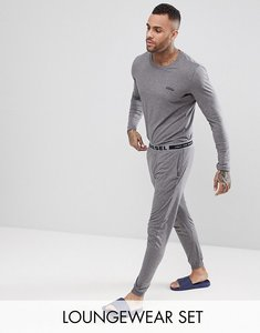 Read more about Diesel pyjama set in gift box - grey