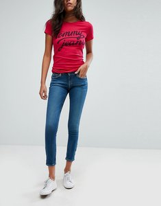 Read more about Tommy jeans nora ankle grazer skinny jean - midwash denim