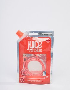 Read more about Juice lightning 1m cable in coral - multi