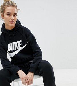Read more about Nike rally logo hoodie in black - black