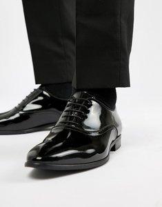 Read more about Kurt geiger london ralph patent oxford shoes - black