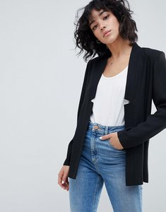 Read more about Asos tailored easy chuck on blazer - black