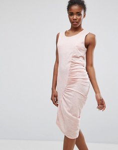 Read more about Minimum asymmetric dress - pink