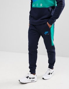 Read more about Nike air skinny joggers in navy 861626-451 - navy