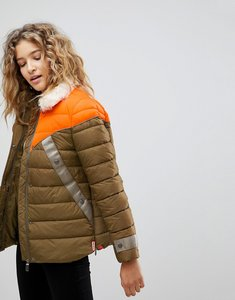 Read more about Hunter original astro padded jacket - comet orange