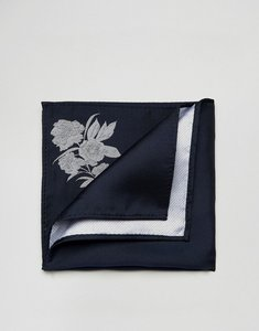 Read more about Asos pocket square in navy - ny1