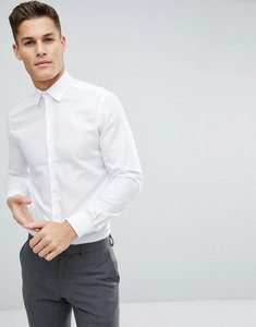 Read more about French connection oxford weave slim fit shirt - white
