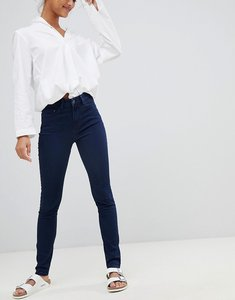 Read more about Waven asa mid rise skinny jeans - solid navy