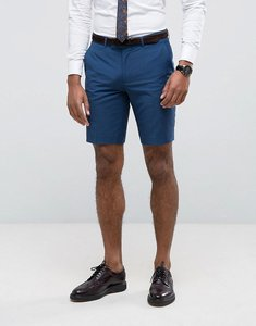 Read more about Farah skinny shorts in blue - blue