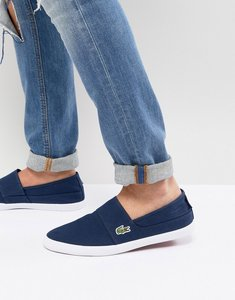 Read more about Lacoste marice plimsolls in navy - navy