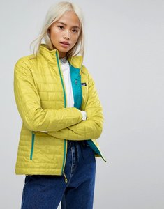 Read more about Patagonia nano puff jacket in green - green