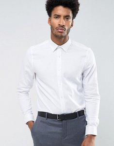 Read more about Ben sherman weave slim fit shirt - white