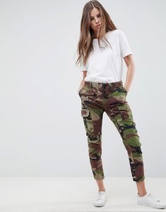 Read more about Replay camo cargo pant - green